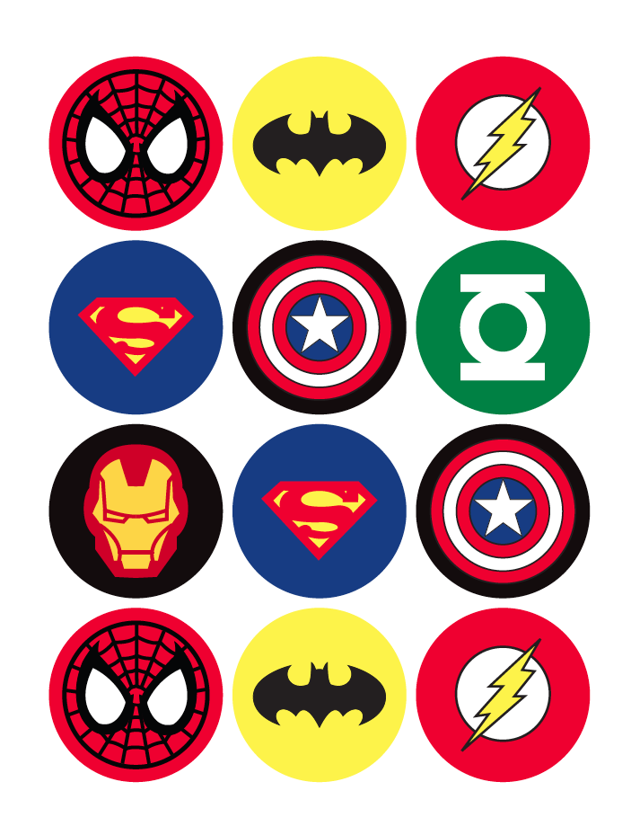 Superman clipart marvel superhero Templates template ideas hero free