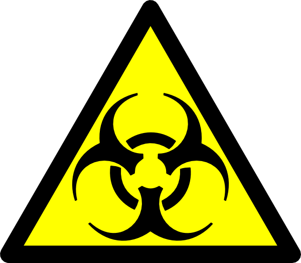 Biohazard clipart toxic waste Symbol Clipart Toxic Clipart Symbol