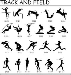Symbol clipart track and field Field Pictures  and track