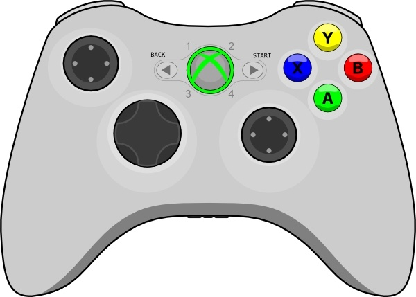 Controller clipart gamepad Use for download clip (17