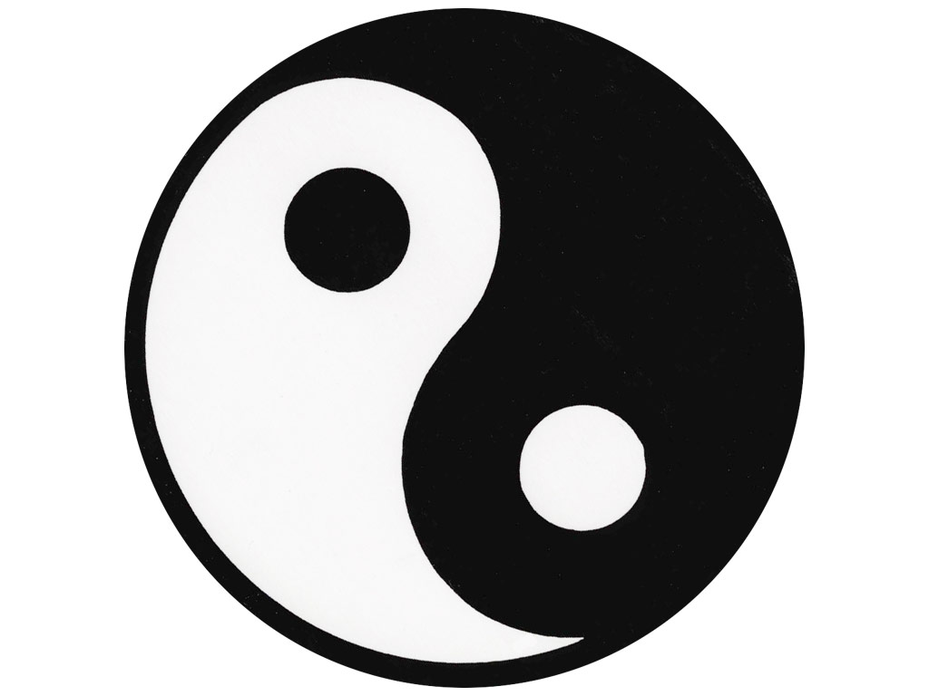 Symbol clipart yin yang #11