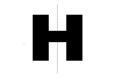 Symmetry clipart bilateral symmetry The Math of Clip H