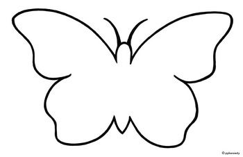 Butter clipart outline White nz black butterfly and