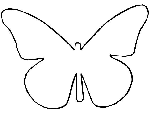 Butter clipart outline Butterflies Clip Clip of Photos