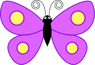 Symmetry clipart butterfly Butterfly clipart art clip clipartcow