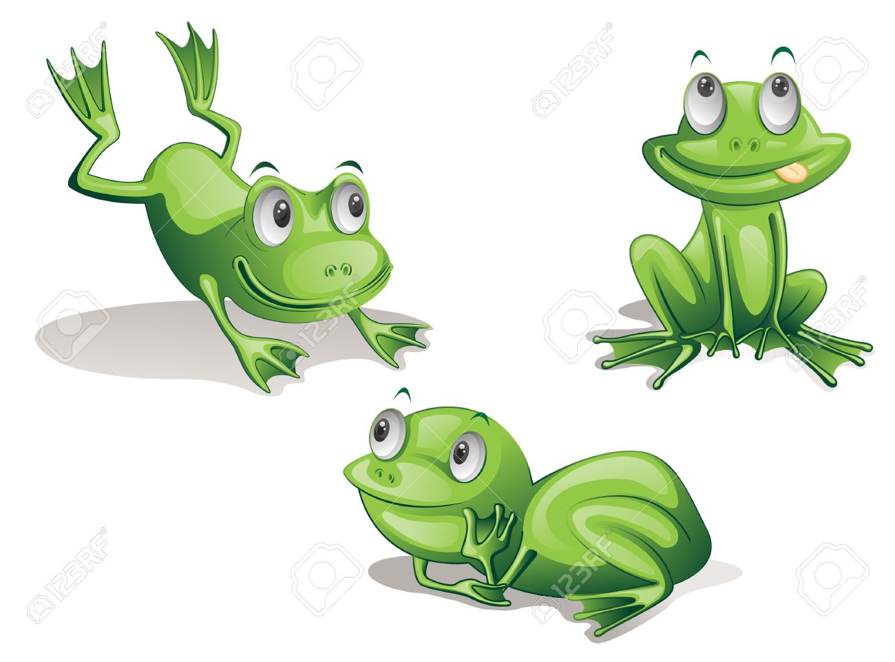Symmetry clipart frog hopping 24 images on 13215985 of