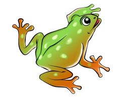 Symmetry clipart frog hopping Pinterest hopping Hopping Clipart CLIPART
