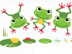 Symmetry clipart frog hopping About on Cute Meylah Clipart