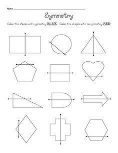 Symmetry clipart kindergarten PreK favorite shape Geometry Our