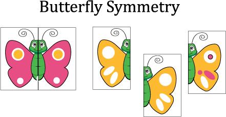 Symmetry clipart kindergarten Preschool game visual Games Lessons