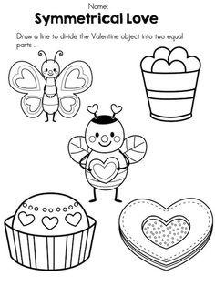 Symmetry clipart kindergarten Symmetry of >> Part April