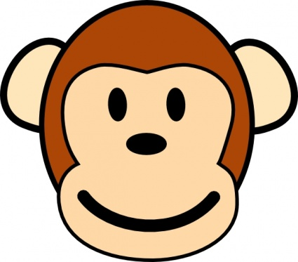 Baboon clipart face Clipart Whopper Free Clipart Panda