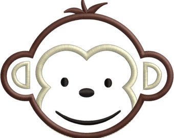Baboon clipart animated Monkey cliparts Face clipart face