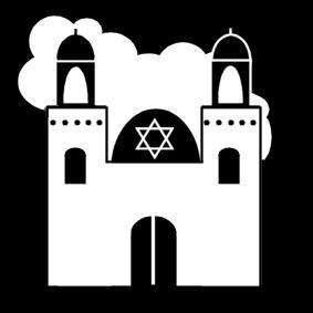 Synagogue clipart  Synagogue img Coloring page