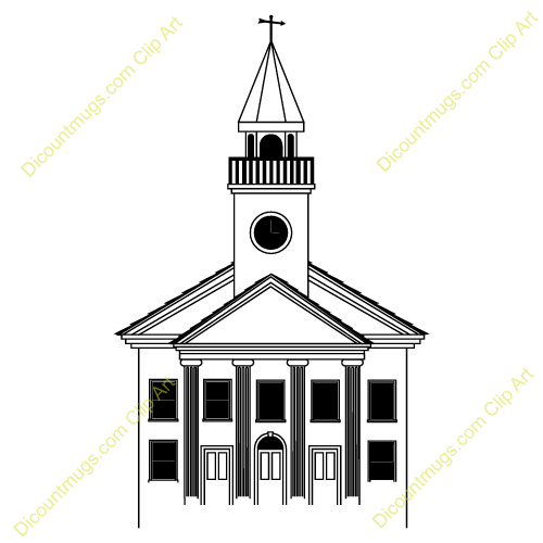 Synagogue clipart mandir TWCENTER temple Jewish clipart collection