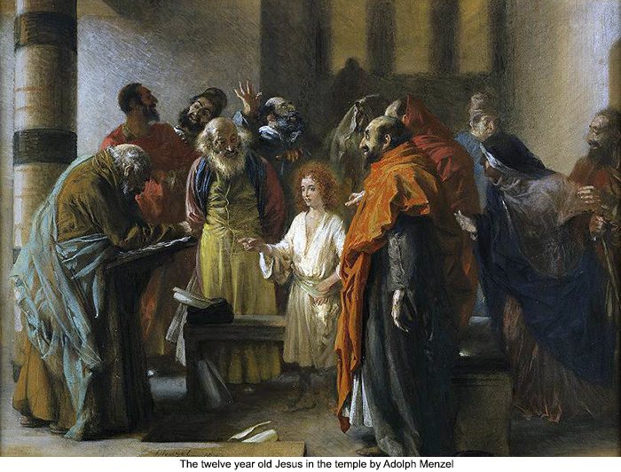 Synagogue clipart sabbath Jesus Jesus old The Adolph