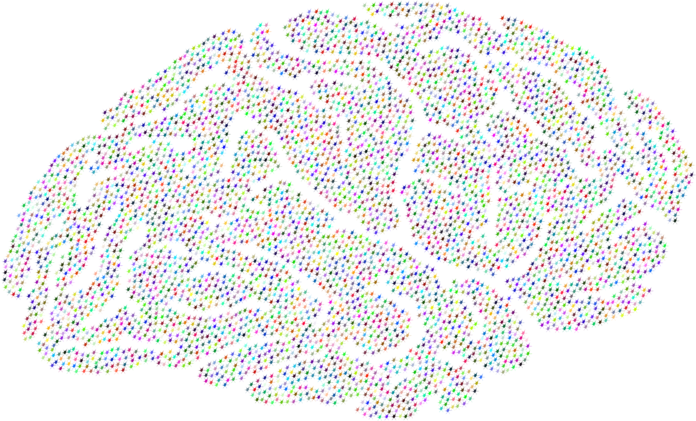 Synapse clipart Brain Synaptic Synaptic Prismatic Prismatic