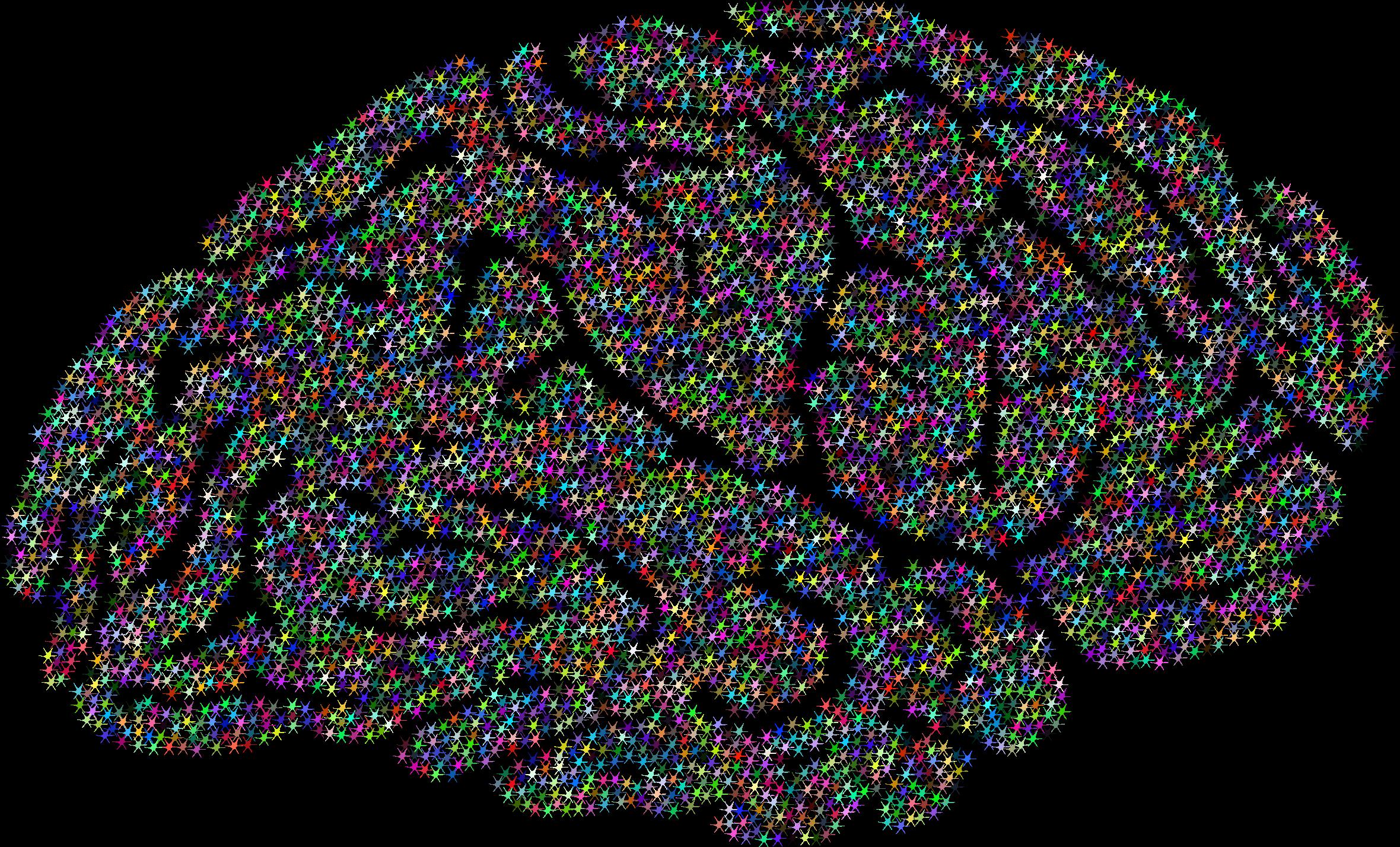 Synapse clipart Brain Synaptic Synaptic Prismatic Prismatic