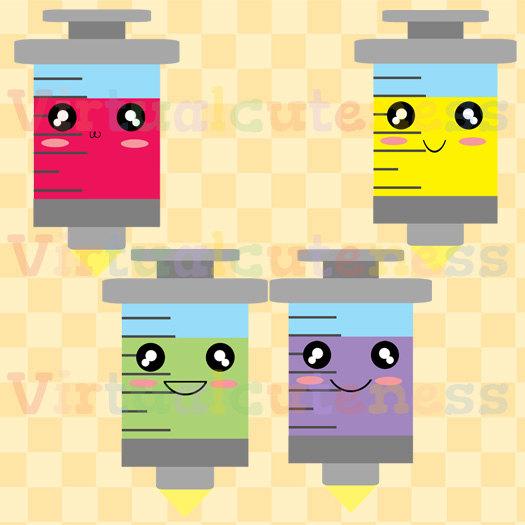 Medicine clipart happy Clip Syringe Syringe Clipart Clipart
