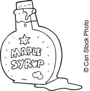 Syrup clipart Syrup drawn cartoon art syrup