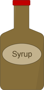 Syrup clipart Syrup Clip  Syrup Image