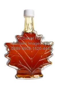 Syrup clipart Of maple syrup shaped leaf