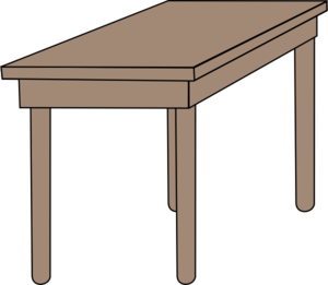 Furniture clipart school table Table%20clipart Images Art Table For