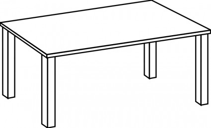 Table clipart #18087 free Table bookshelf clipart