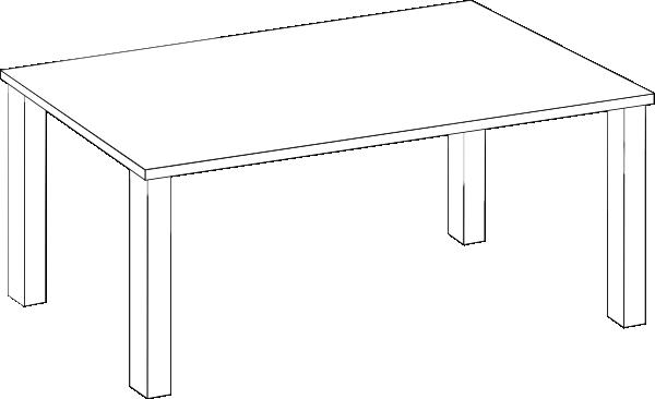 Desk clipart square table Panda Clipart Clipart Images Table