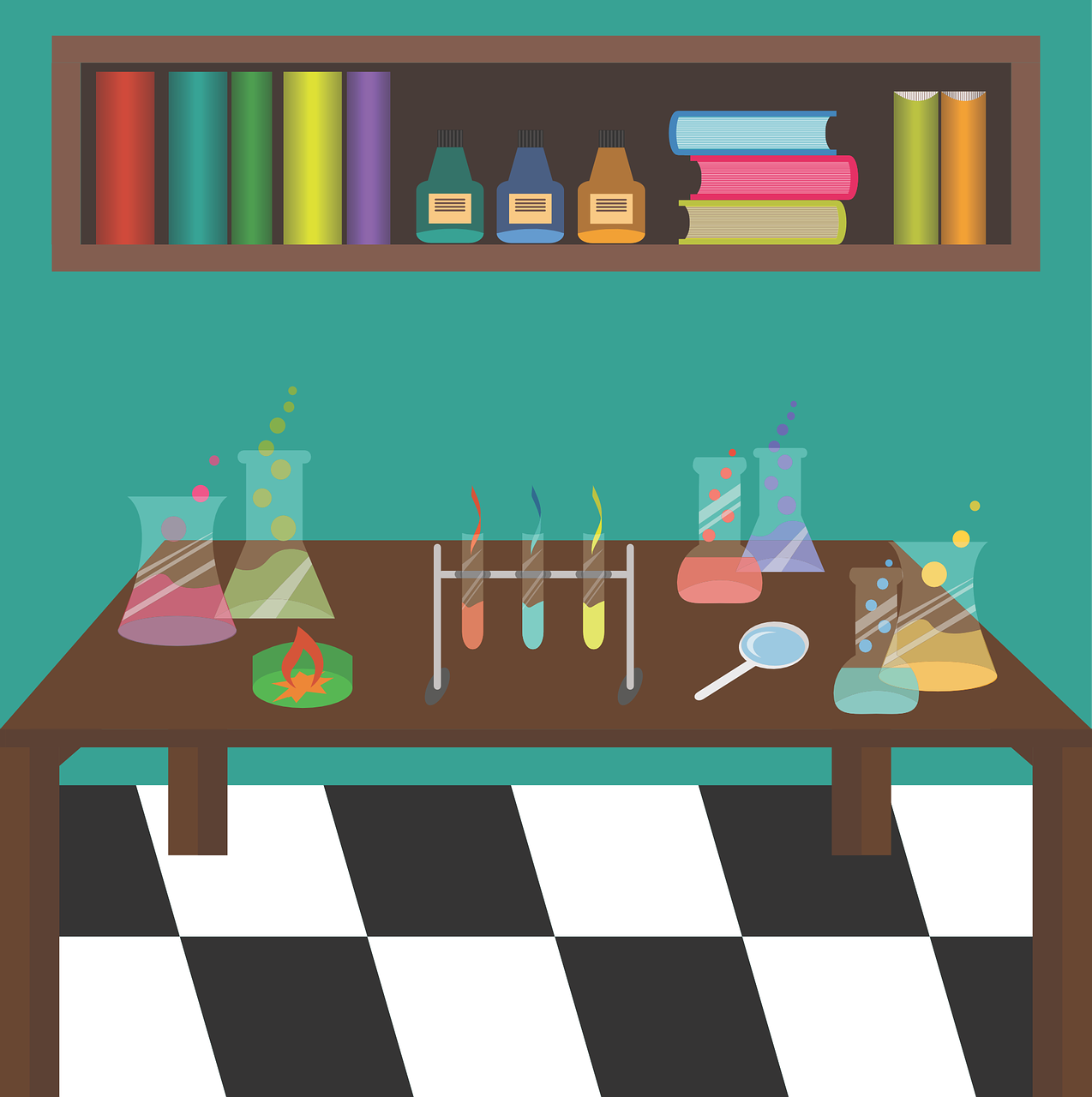 Room clipart science laboratory #3