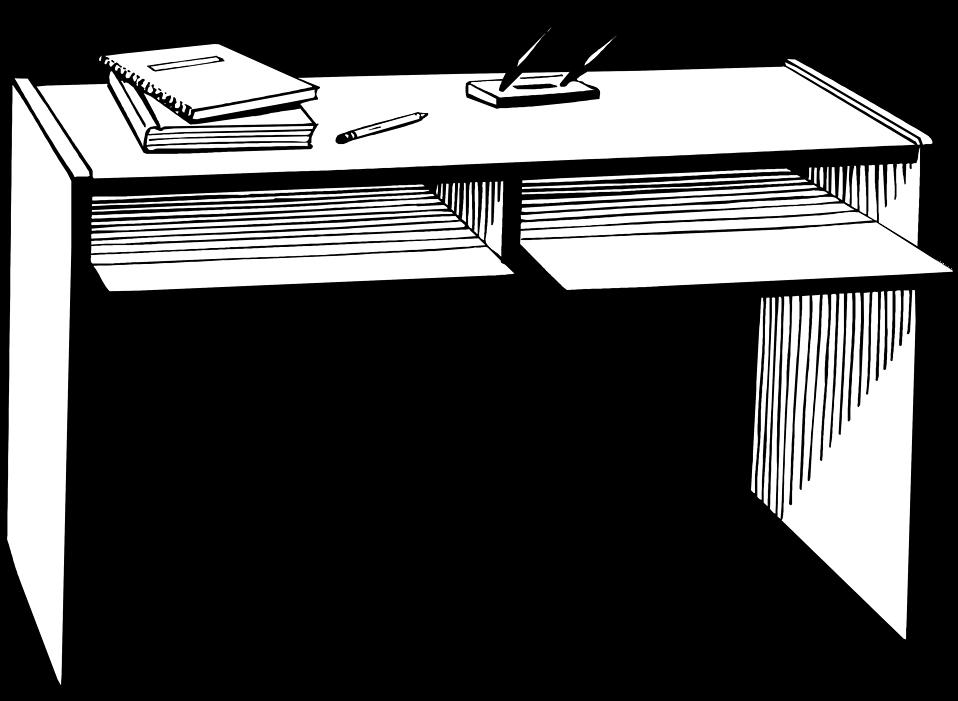 Desk clipart transparent No no collection furniture collection