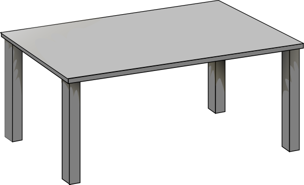 Desk clipart square table Photos Table Clip Art Table