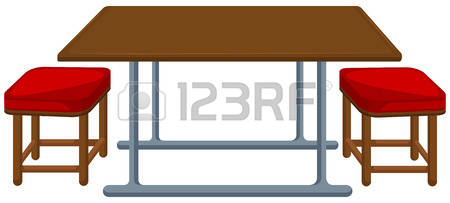 Bench clipart lunch table 355 Clipart Table lunch bench