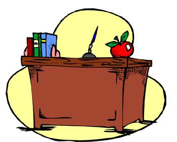 Desk clipart classroom teaching – Download clipart teacher Clipart