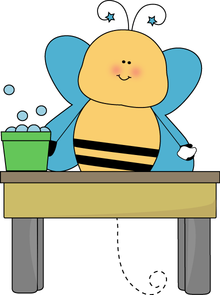 Desk clipart round Washer Bee Washer Table Washer