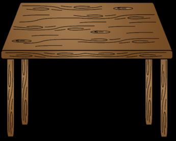 Wood clipart wood table Table Clipart Clipart Wood ClipartPod