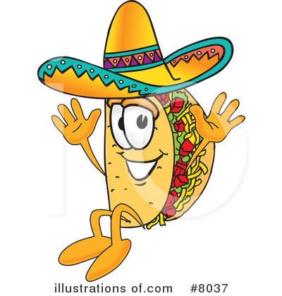 Taco clipart Toons4Biz Royalty #8037 Clipart by