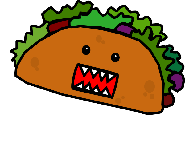 Tacos clipart Free images Taco Pictures Clipartix