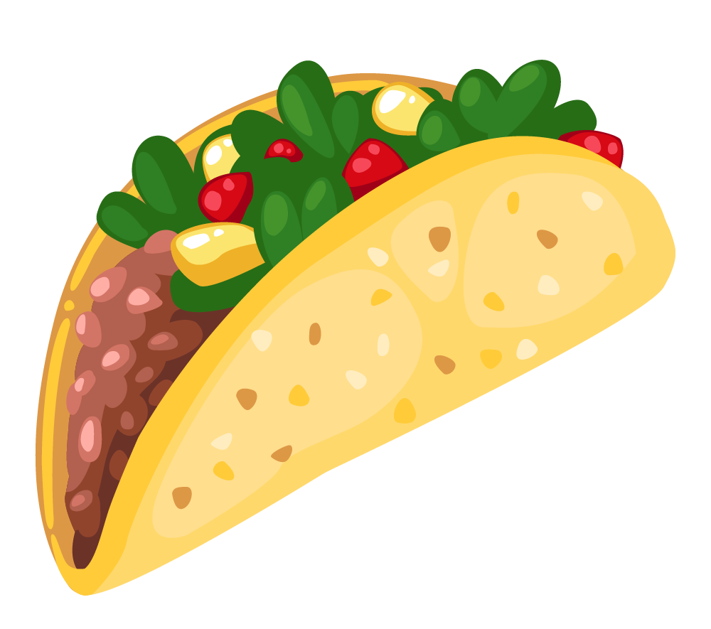 Tacos clipart Free 3 Taco Pictures Clipartix