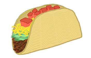 Taco clipart 2 Taco clipart art clipartix