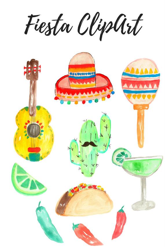 Taco clipart fiesta Art This Cinco is digital