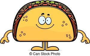 Taco clipart quesadilla Of wearing Cartoon Vector