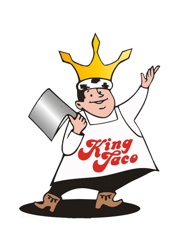 Taco clipart quesadilla King Taco Quesadillas Taco Mascot