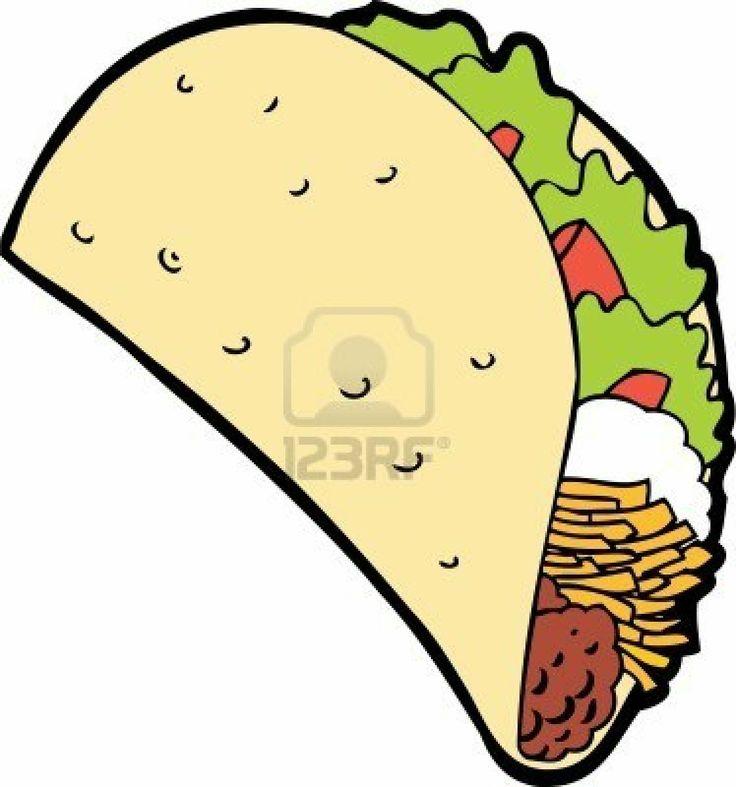 Tacos clipart Taco ideas Taco cartoon Best