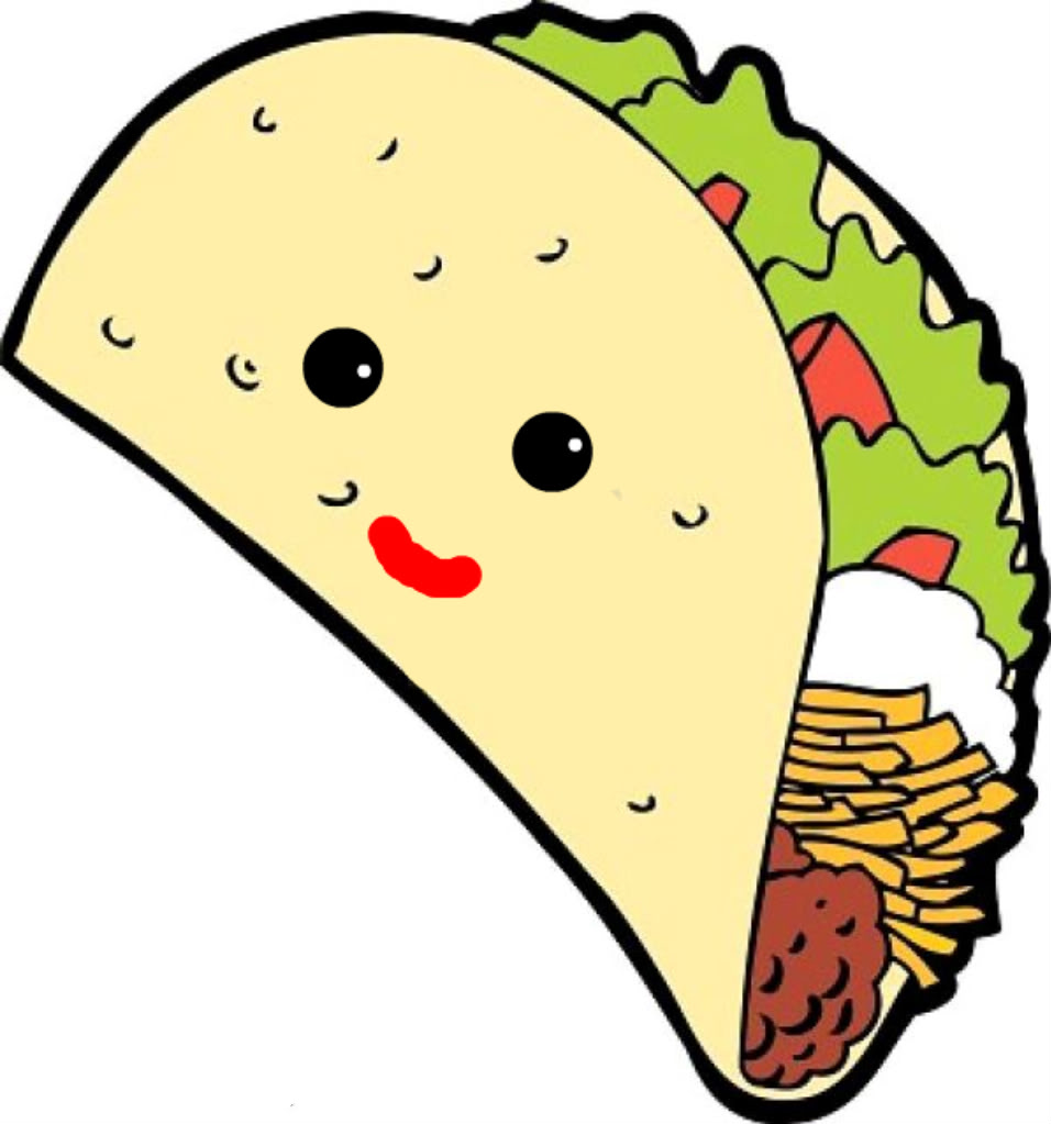 Taco clipart cute Free Tacos art Best Soft