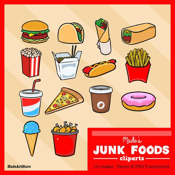 Pizza clipart junk food Party Clipart Food  Illustrators