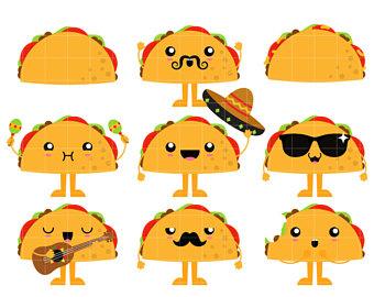 Taco clipart cute Art Making Scrapbooking Paper Cute