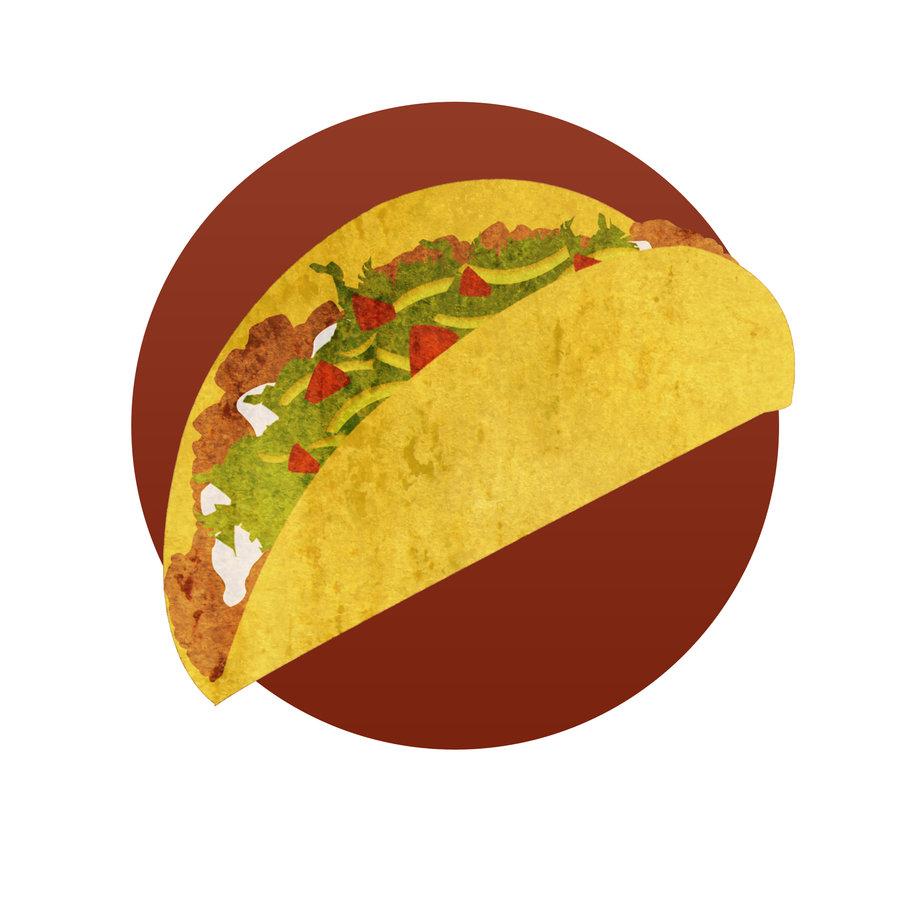 Taco clipart vector Clipart Tacos ClipartFan 9604 and
