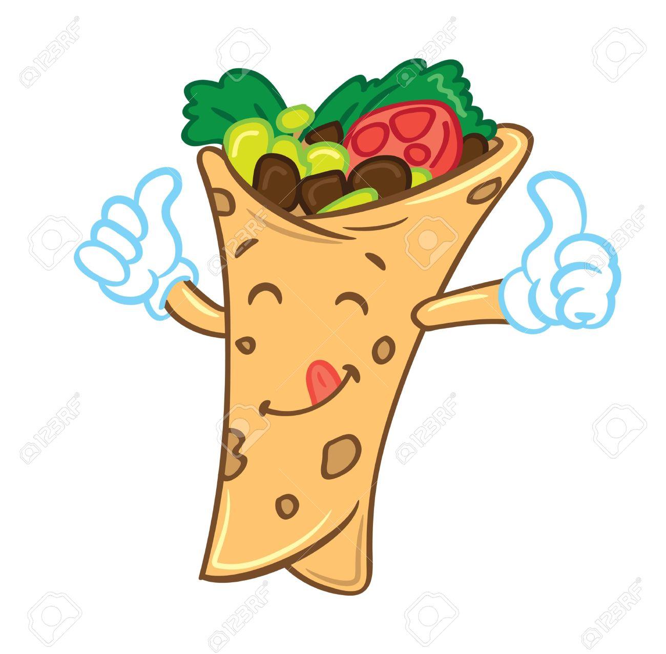 Kebab clipart breakfast taco Food 9604 Tacos com Mexican