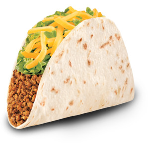 Tacos clipart soft taco Taco Polyvore Bell! Tacos <3